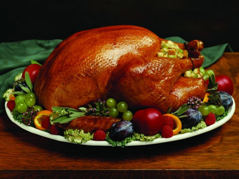 Heritage cooked turkey